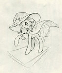 maytee playing_card sketch the_great_and_powerful_trixie traditional_art