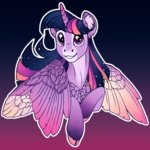 absurdres highres princess_twilight turnipberry twilight_sparkle