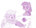 applejack dstears gambling maud_pie playing_card