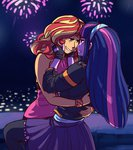 absurdres equestria_girls highres humanized overlordneon princess_twilight shipping sunlight sunset_shimmer twilight_sparkle