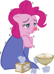 pinkie_pie ponyrake sick transparent