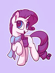 lolliponybrony rarity scarf