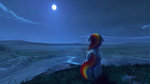highres moon nighttime quvr rainbow_dash scenery