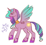lowres lulubellct pretty_wings princess_celestia princess_pinklestia toy toy_reference