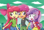 apple_bloom cutie_mark_crusaders equestria_girls humanized scootaloo sweetie_belle the-butch-x