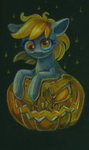 derpy_hooves maytee pumpkin traditional_art