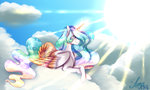 cloud djspark3 highres princess_celestia sun