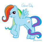 lulubellct rainbow_dash retro