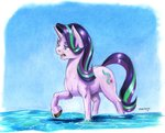 baroncoon starlight_glimmer traditional_art water