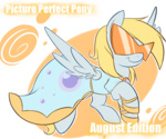 derpy_hooves dress glasses picture_perfect_pony senseidezzy sunglasses