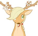applejack deer species_swap tsumini