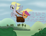 derpy_hooves mail not_that_kind_of_shipping scootaloo stamp zonra