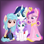 absurdres cozy_glow highres princess_cadance princess_flurry_heart shining_armor vectorvito