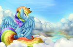 absurdres cloud grennadder highres rainbow_dash