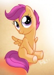 blushing scootaloo warepwn3