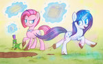 bow_tie gummy hat manecut mud personality_swap pinkie_pie rarity