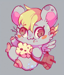 derpy_hooves hamster muffin species_swap xxmioxx