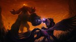 assasinmonkey highres magic princess_twilight tears tirek twilight_sparkle