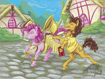 absurdres accordion banjo cheese_sandwich harmonica highres horselike pinkie_pie substantiallyuseless tambourine tuba