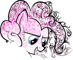 highres pinkie_pie pinkius transparent tribal vector