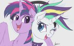 highres manecut ncmares princess_twilight punk_rarity rarity twilight_sparkle