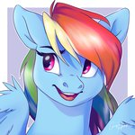 bluefeathercat rainbow_dash