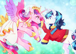 clothes dress highres princess_cadance rorita-sakura shining_armor