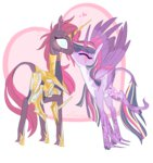 armor creeate97 kiss princess_twilight shipping tempest_shadow twilight_sparkle twizzlepop