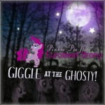 album_cover artist_unknown everfree_forest fluttershy moon pinkie_pie ponybeat rainbow_dash rarity twilight_sparkle