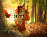 autumn_blaze forest highres kirin renokim trees