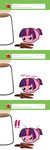 ask askmlcblobs blob coffee pekou twilight_sparkle