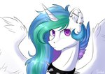 collar earring highres princess_celestia spiked_collar vincher