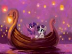 boat lilfunkman princess_twilight raritwi rarity shipping twilight_sparkle