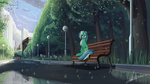 bench lyra_heartstrings rublegun scenery urban