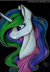 highres julunis14 princess_celestia traditional_art