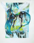 highres queen_chrysalis sapraitlond traditional_art