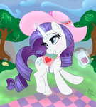 glass hat joakaha magic rarity saddle
