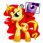 hoyeechun sunset_shimmer twilight_sparkle