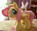 angel fluttershy piquipauparro plushie toy
