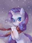 psiaus rarity scarf snow snowing winter