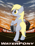 derpy_hooves parody poster the_waterboy txlegionnaire