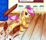 highres liaaqila scootaloo traditional_art
