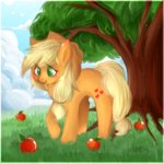 applejack apples tree yellowalpaca0726