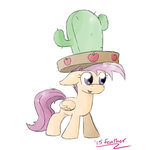 cactus cactus_hat feather-chan hat scootaloo sombrero
