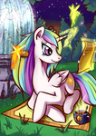 brushie coffee comb fairy lexx2dot0 magic manecut princess_celestia scroll