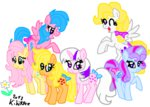 applejack_(g1) firefly g1 generation_leap kikirdcz posey sparkler surprise twilight