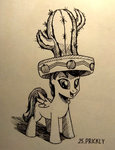 cactus hat highres sa1ntmax scootaloo traditional_art
