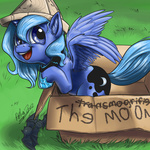 aphexangel bat cardboard_box filly hat princess_luna woona