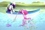 boat fish hat pinkie_pie rarity siggie740