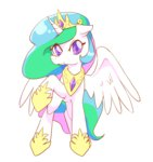 highres monono princess_celestia